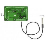 Датчик температуры ds18b20 со стандартом RS485 и Modbus