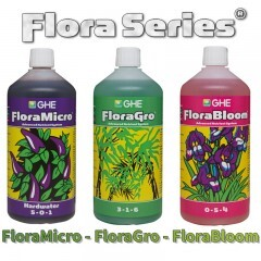 Flora Series 3x1L for hard water