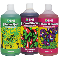 Flora Series 3x1L for soft water